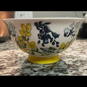 RARE Threshold Stoneware Noodle Bowl